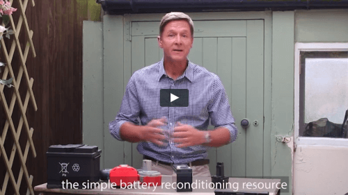 Step by Step Guide to recondition dead batteries at home