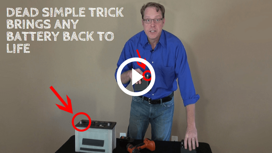 Trick to Recondition Batteries