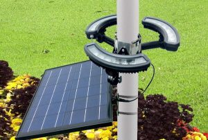 best solar flagpole light list