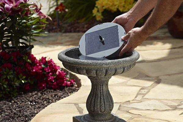 Best Solar Birdbath Fountain available in USA