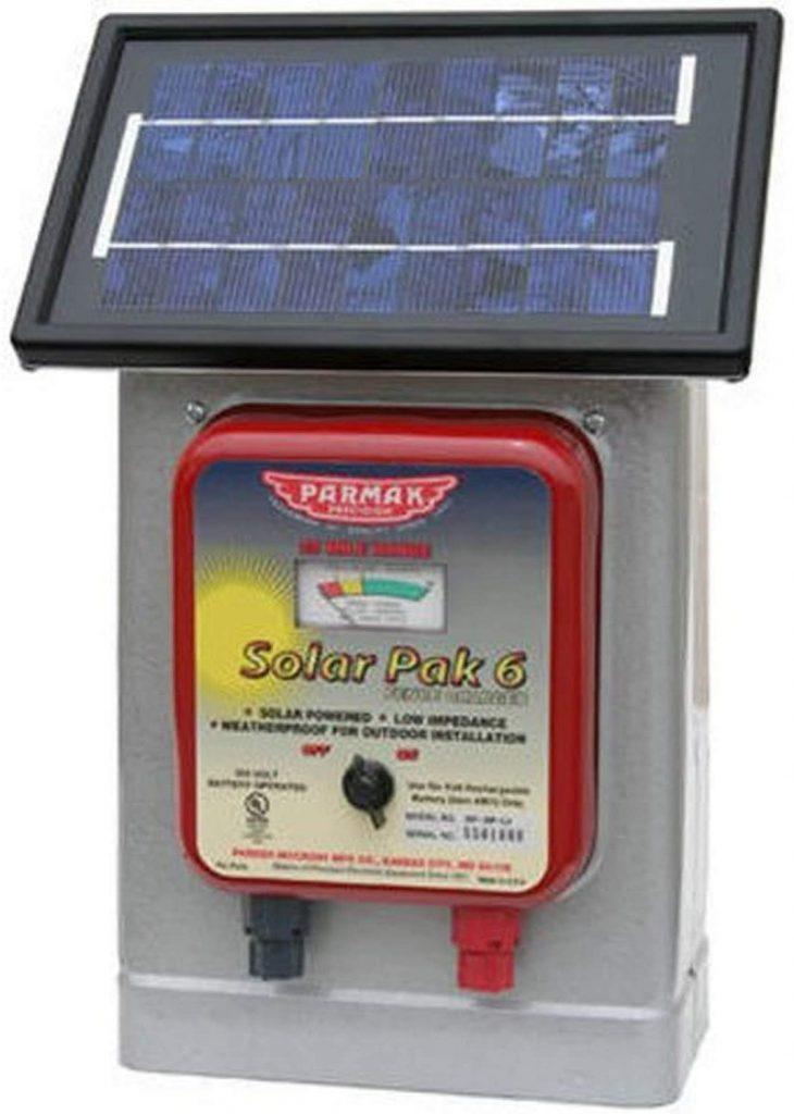 Parmak DF-SP-LI Solar Range Electric Fence Charger