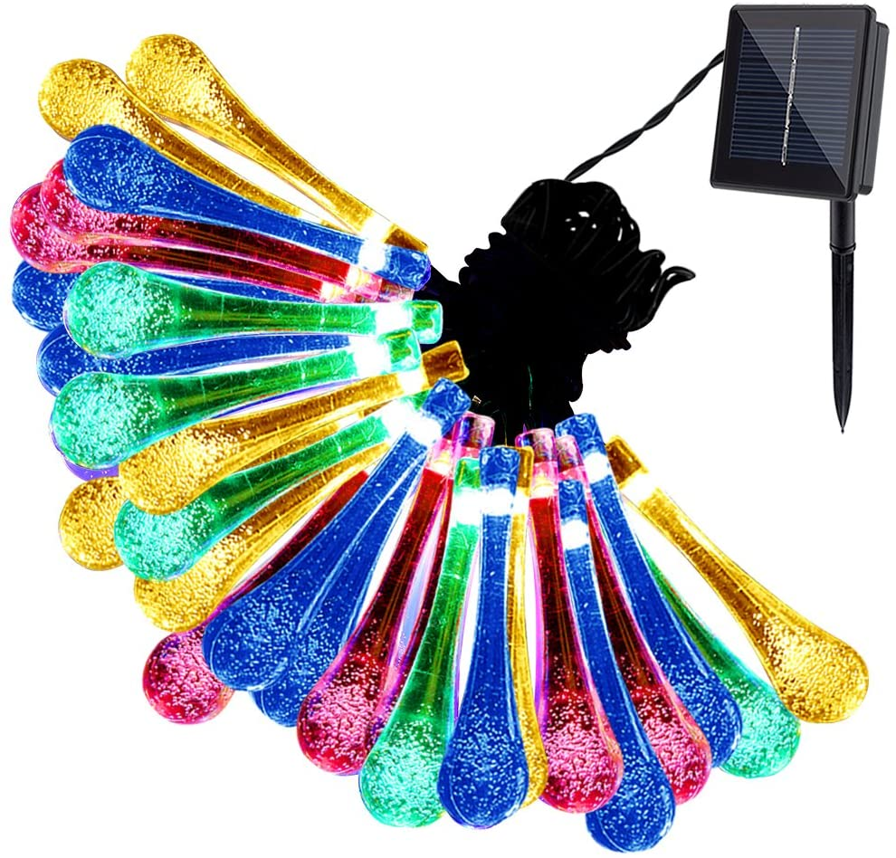 Solar String Fairy Waterproof Lights Christmas Lights