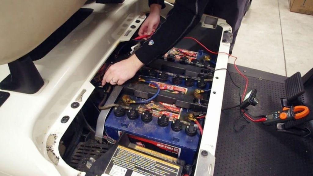36-volt golf cart battery charger